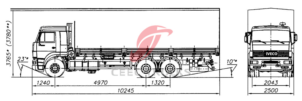IVECO cargo truck Chassis