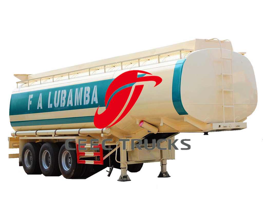 45 CBM fuel tanker trucks export Angola