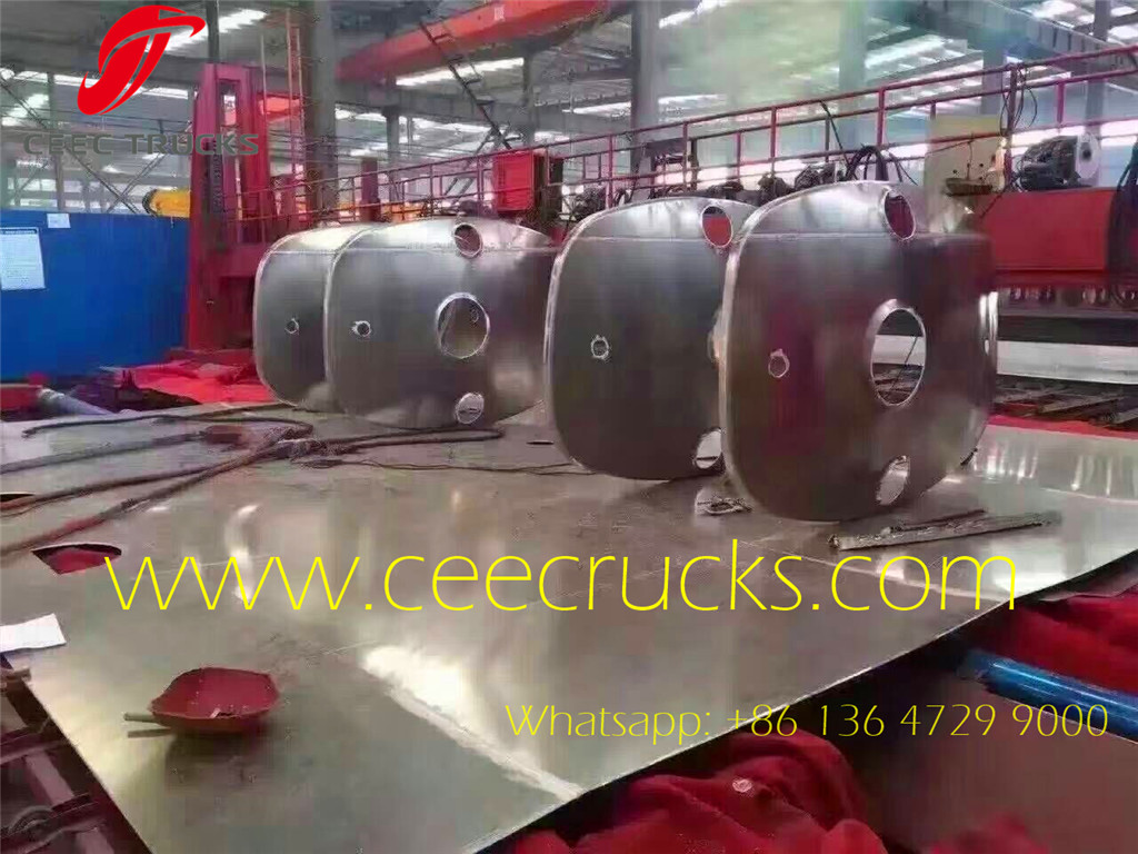 CEEC tanker trucks under production