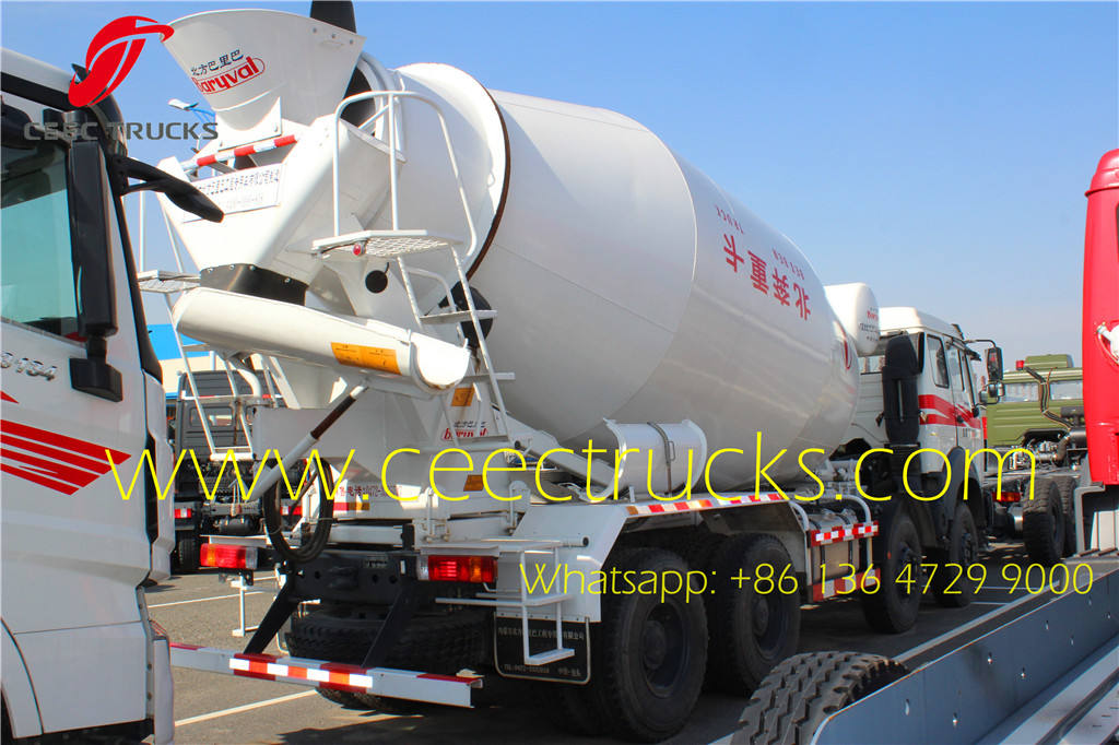 beiben 3134 NG80B mixer trucks supplier
