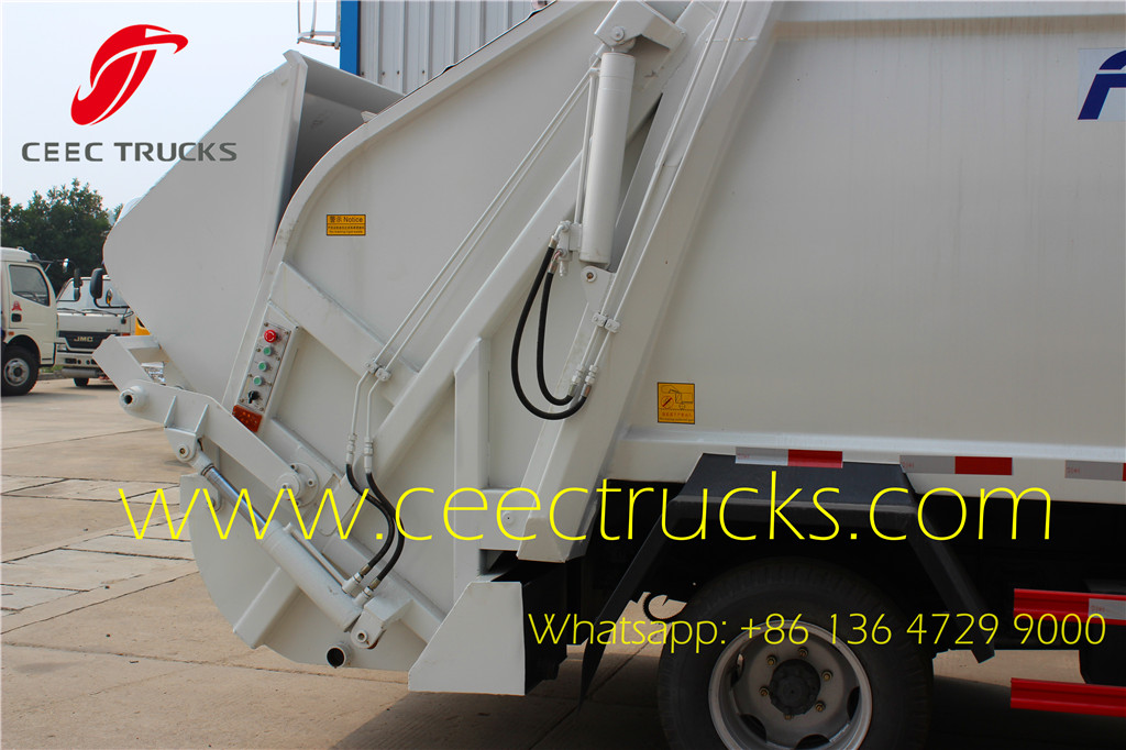 Dongfeng 4 CBM compressed garbage truck