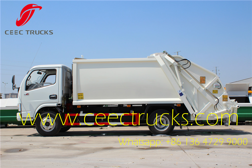 Dongfeng 5000 liters refuse compressed truck