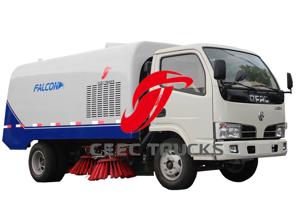 Dongfeng 4 CBM road sweeper