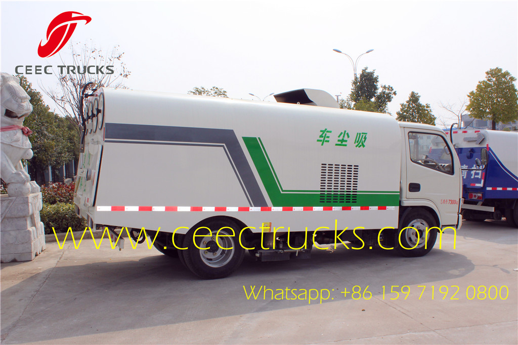 Dongfeng 5CBM vacuum road clean truck