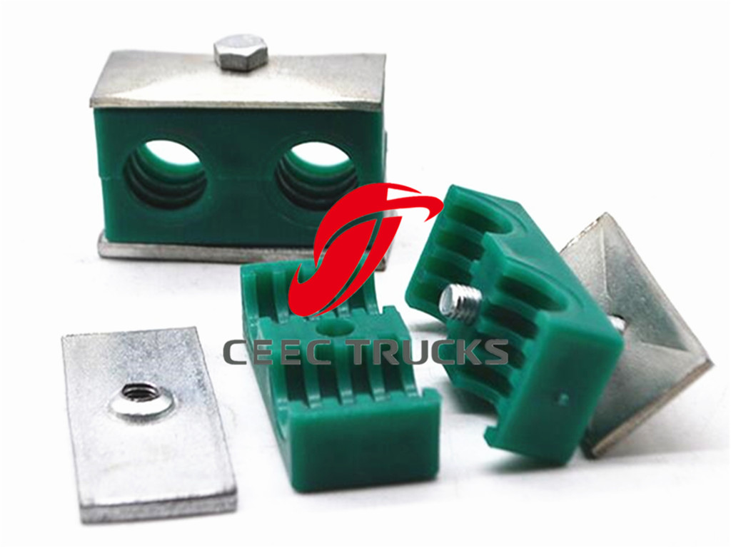 Hydraulic oil steel pipeline clamps