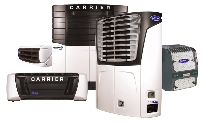 Carrier Refrigerator units