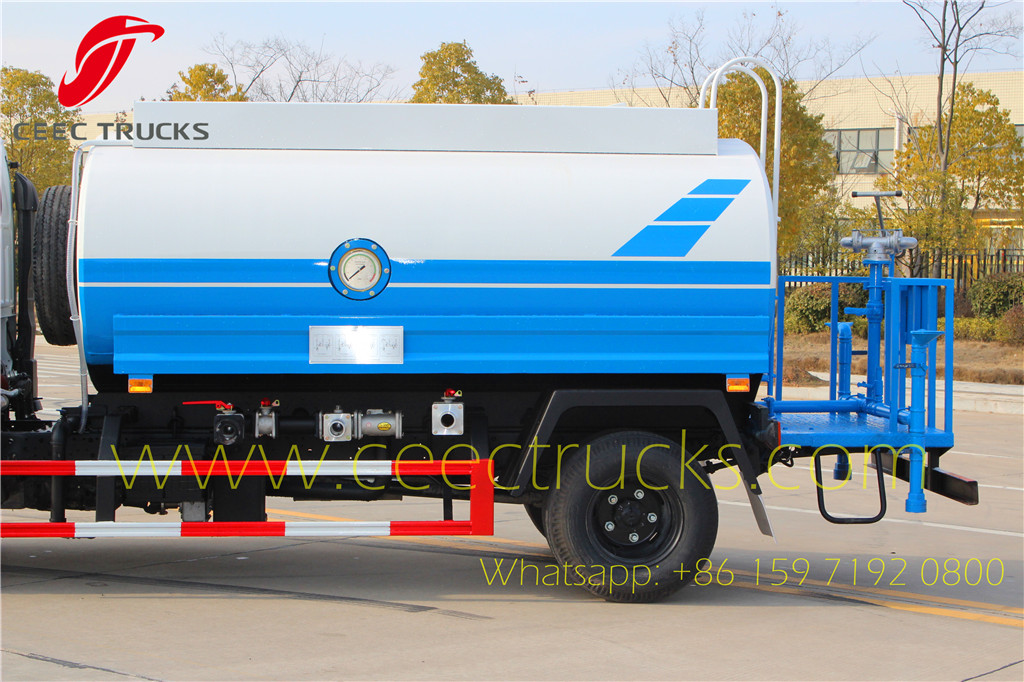 ISUZU 5CBM water bowser export Asia country