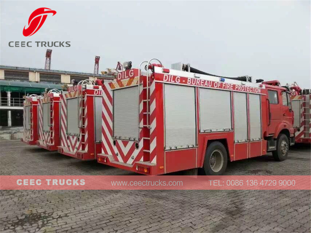 ISUZU firefighting truck export Philippine