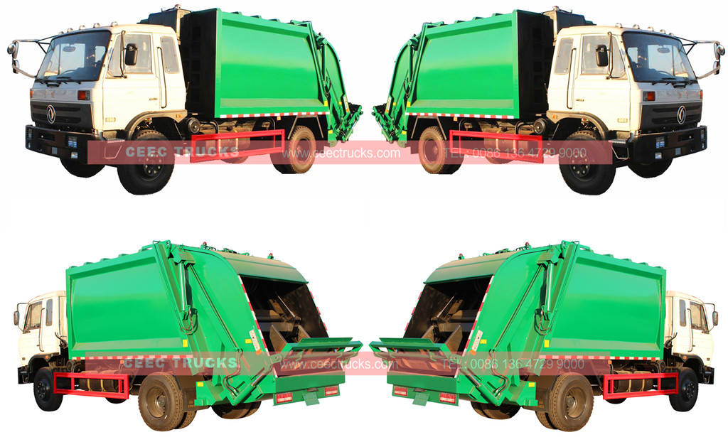 Dongfeng 12cbm compactor truck sale