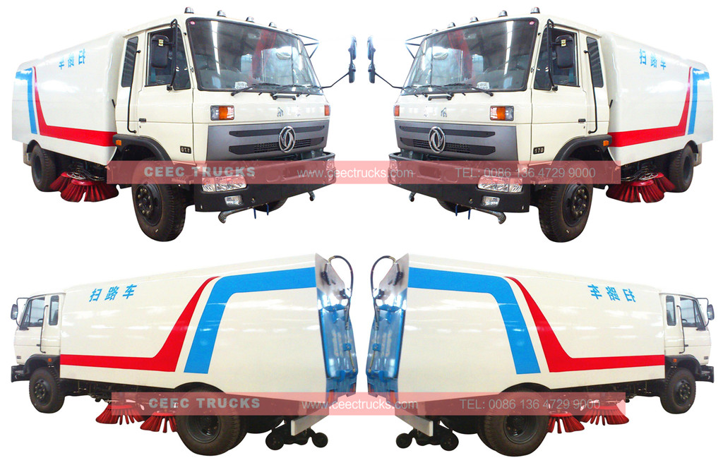 CEEC road sweeper truck overview
