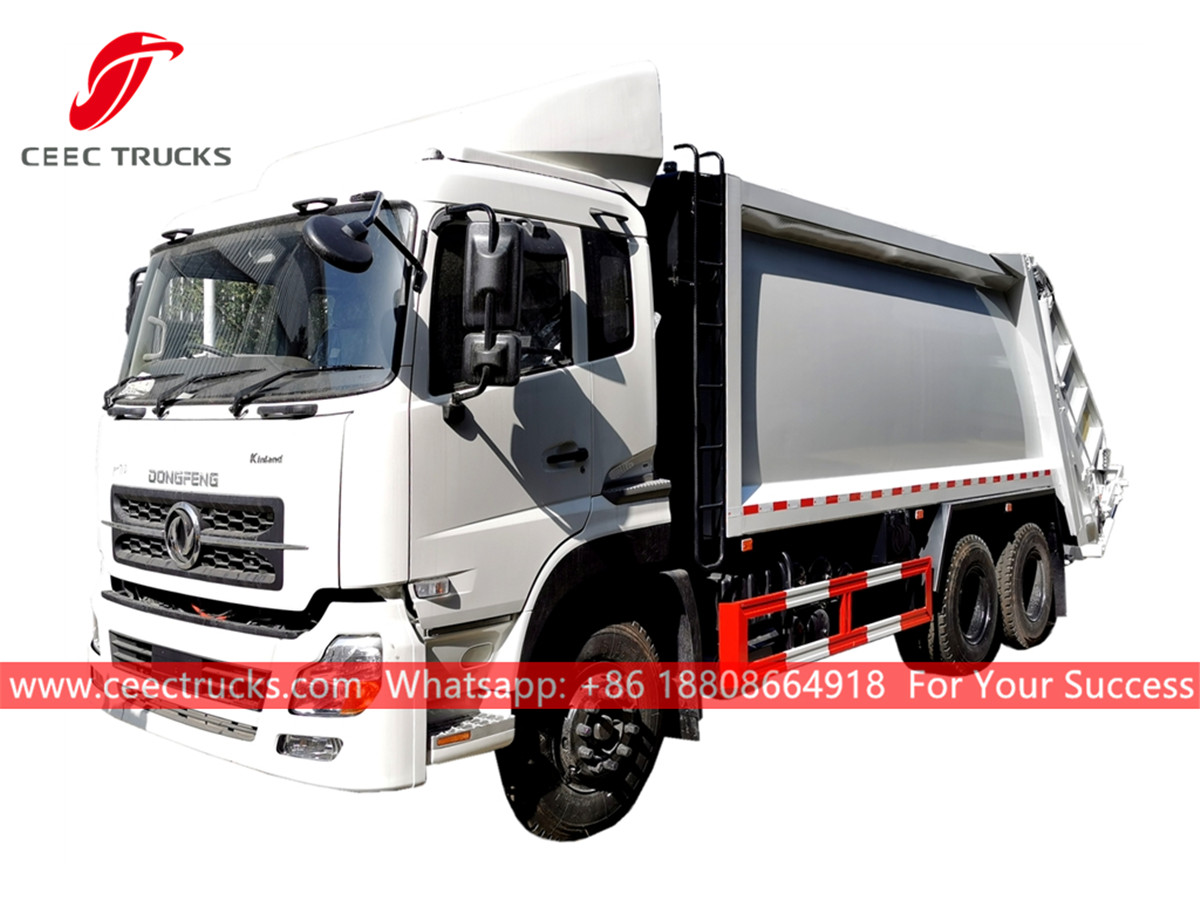 Dongfeng 6*4 RHD Rear loader