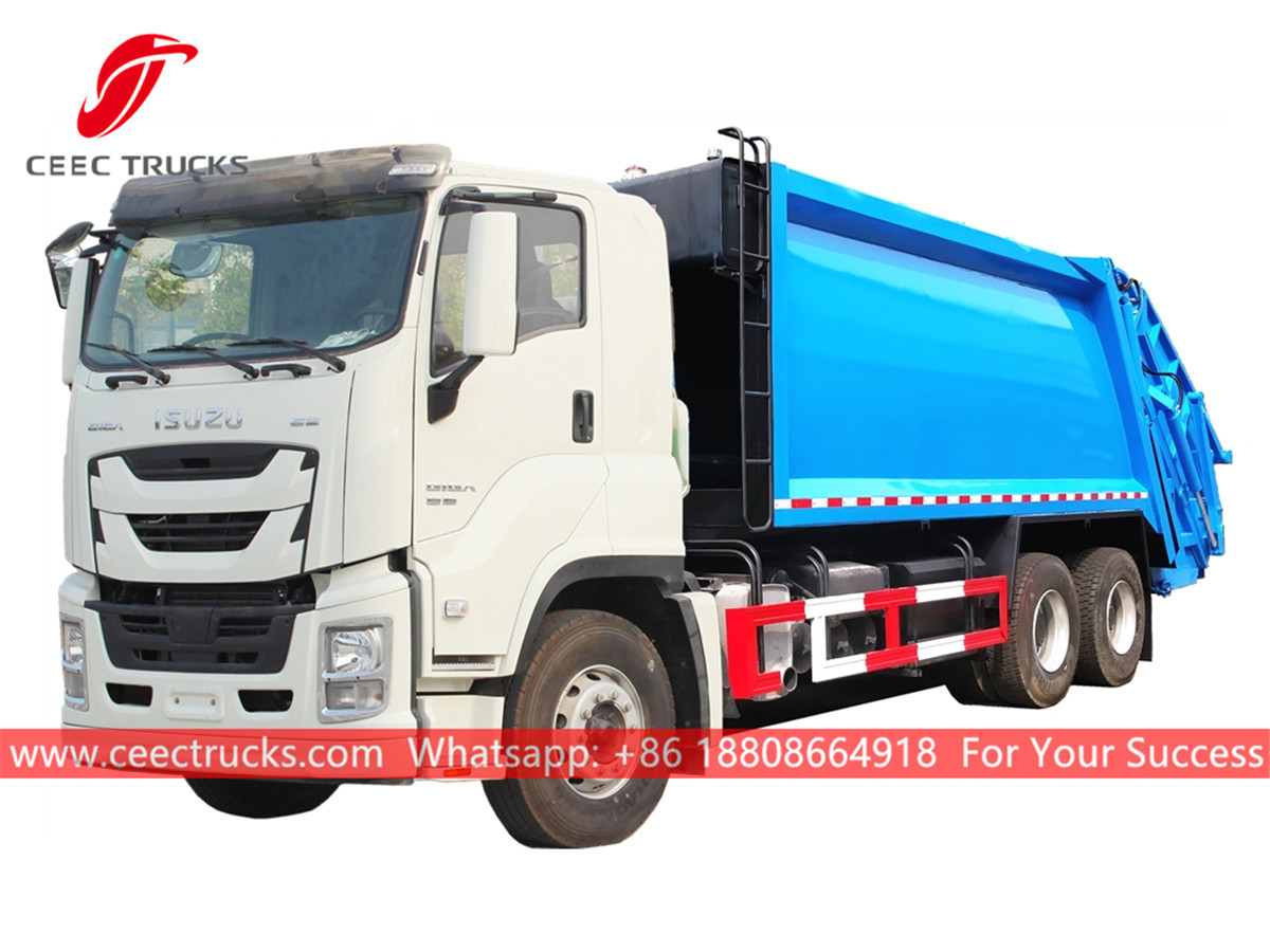 ISUZU GIGA Compressed Rubbish Truck