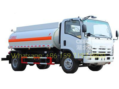 China TOP isuzu 5000 liters fuel tanker truck