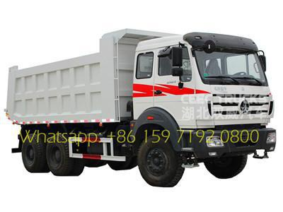 beiben 10 wheeler tipper cargo truck supplier