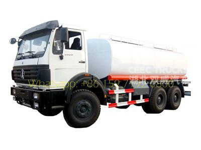 North Benz 10 wheel water tanker truck supplier