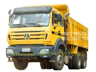 Best price China 50ton dump truck Beiben tipper truck