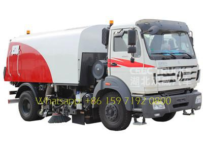 Beiben 8 m³ Road Sweeper Trucks supplier