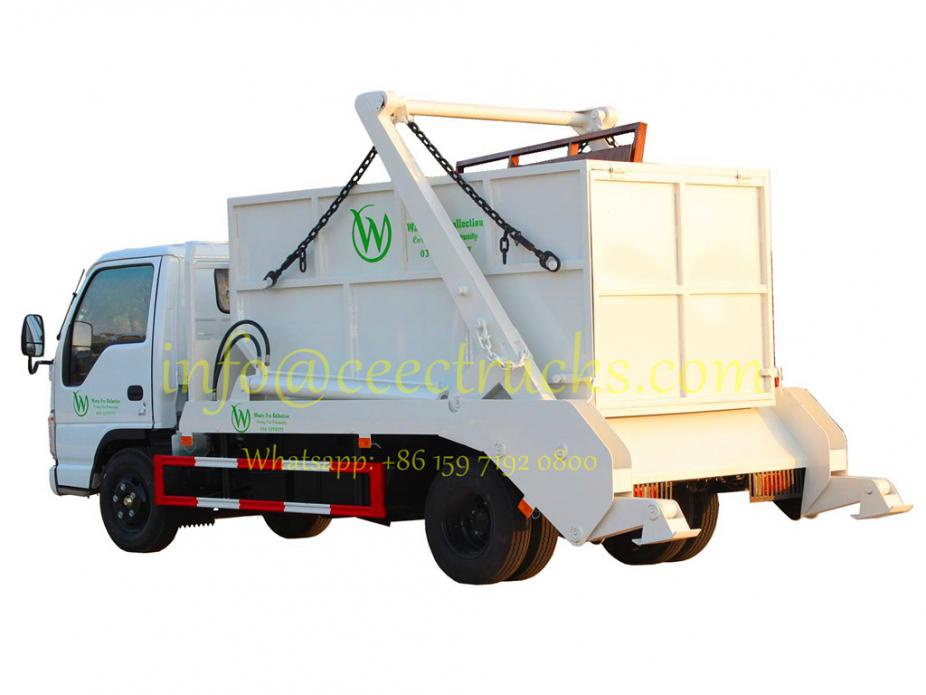 How to buy best quality ISUZU skip refuse tanker truck from China?