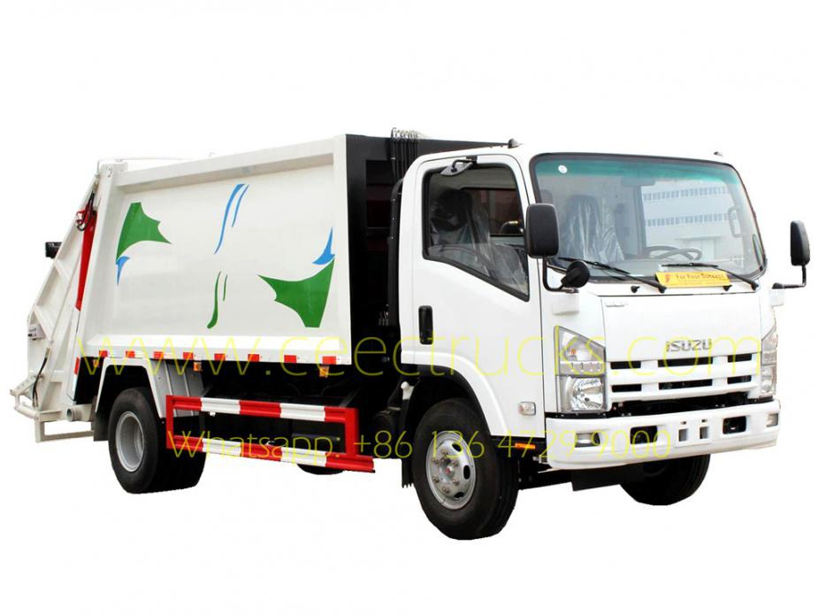 8000L garbage compactor vehicle ISUZU