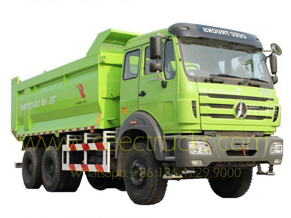 Low price beiben dump truck 40T capacity