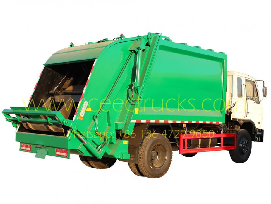 China DongFeng 12 CBM waste compactor vehicle