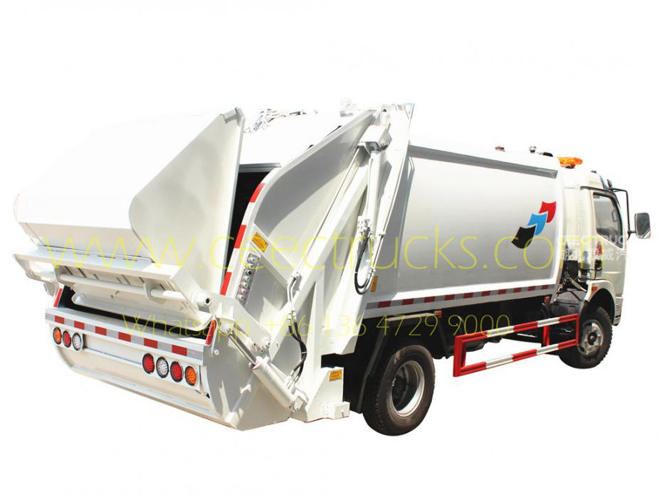 high performed DongFeng 8000 L garbage compactor truck