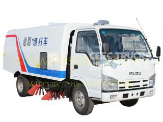 isuzu 4cbm road sweeper низкая цена