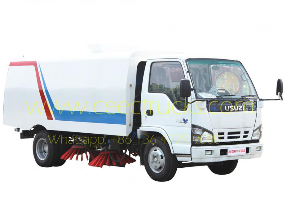ISUZU 5 CBM road sweeper truck