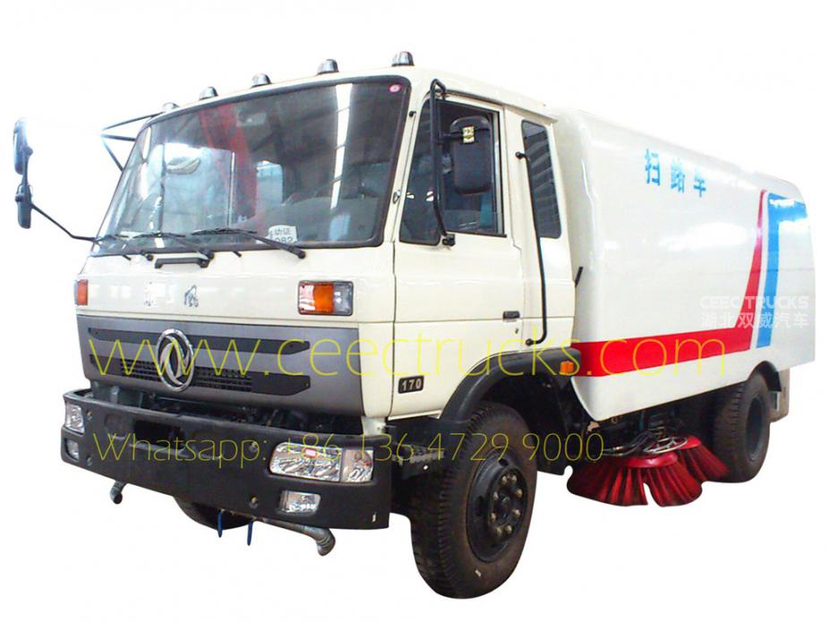 Dongfeng 10,000L road sweeping truck