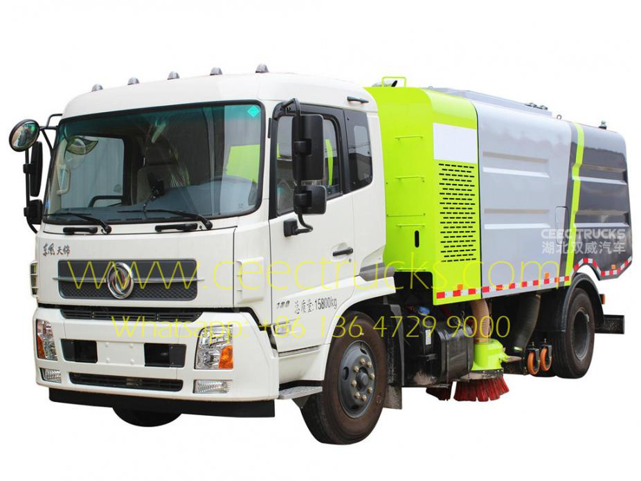 Dongfeng 12,000L road sweeper vehicle