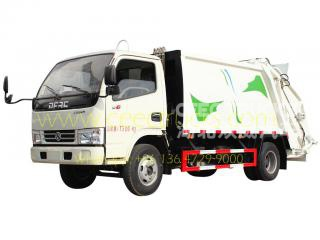 top design dongfeng 5cbm мусоровозы
