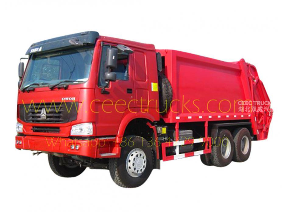 Best 18 CBM refuse compressor truck for sale