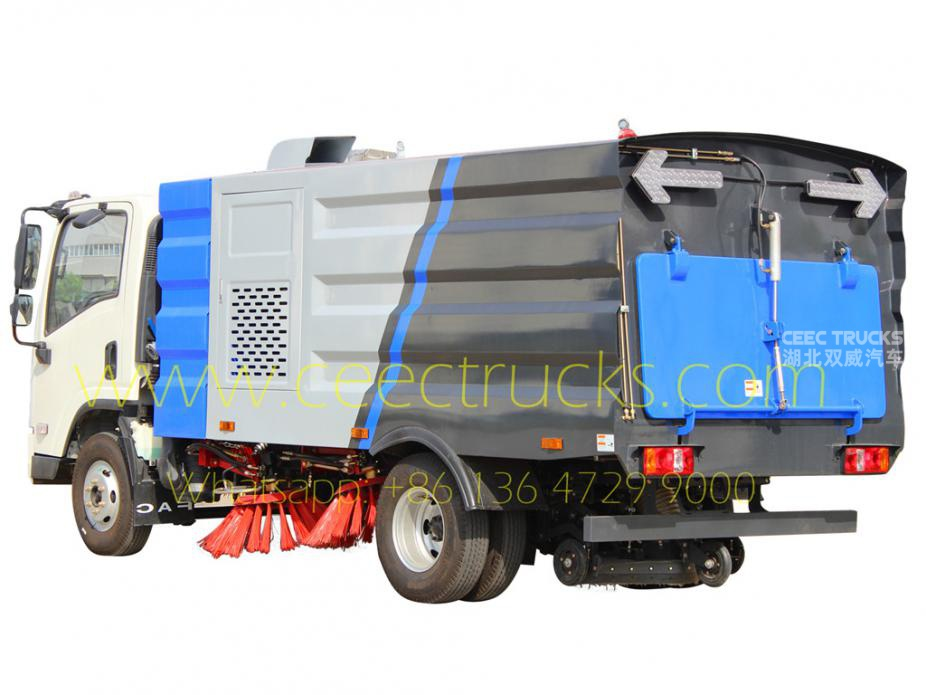 FAW 5CBM road sweeper truck for sale
