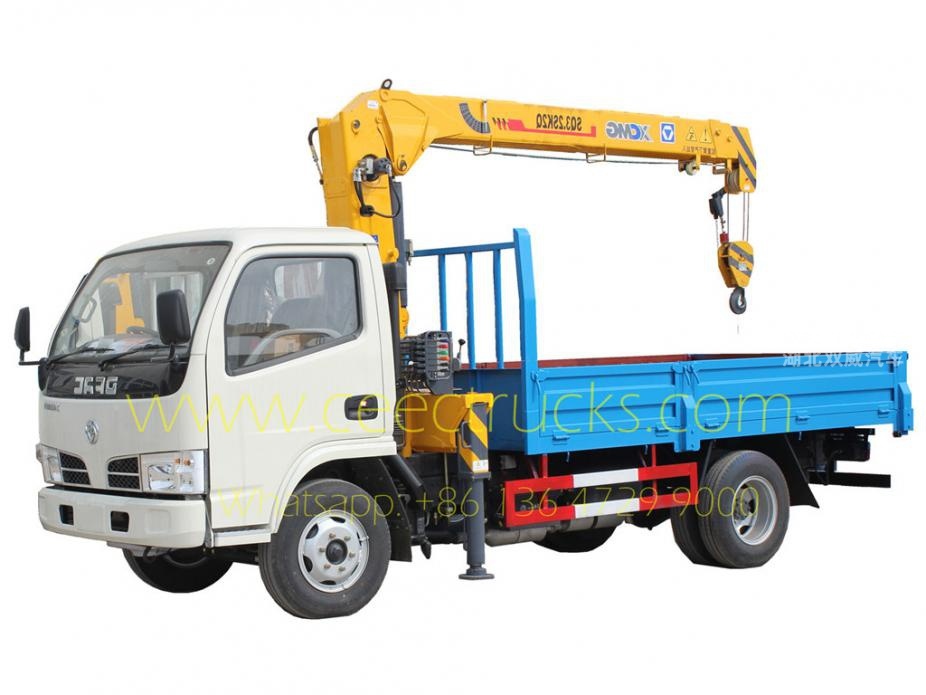 DONGFENG 3.2T truck mounted boom crane