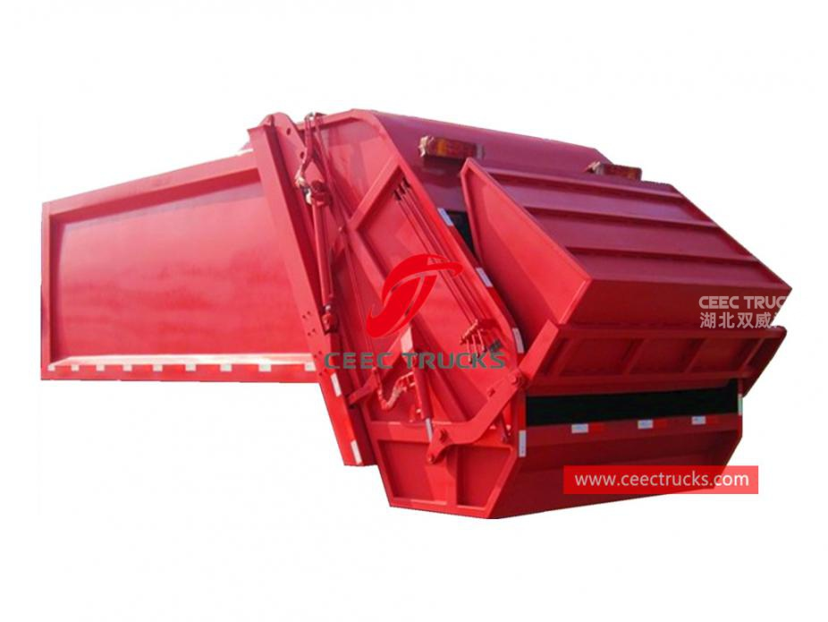 european standard 18,000 liters garbage compactor upper body