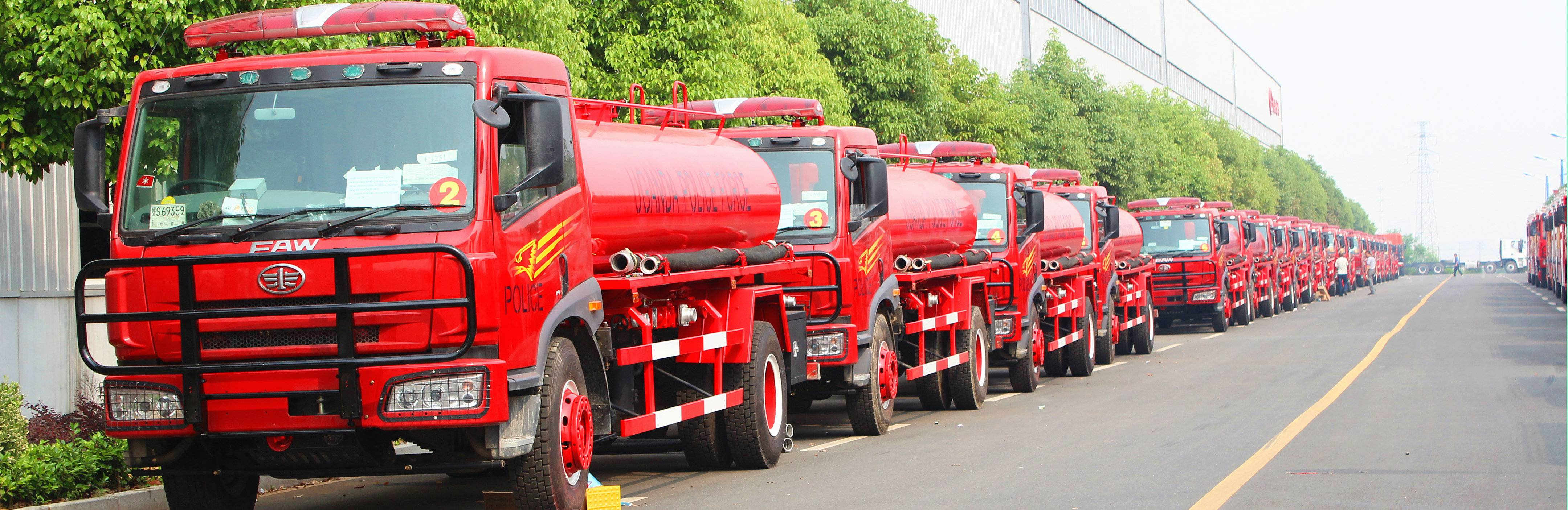 FAW RHD water tanker trucks